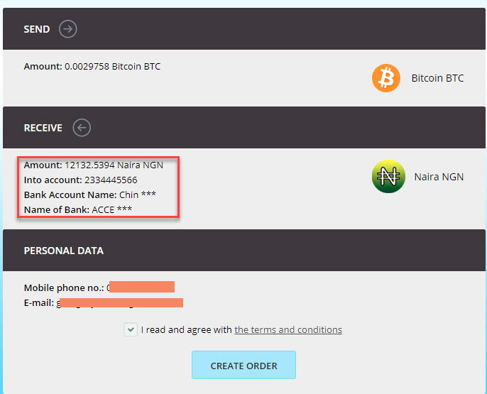 TruexGOLD Sellers Bitcoin Account Order