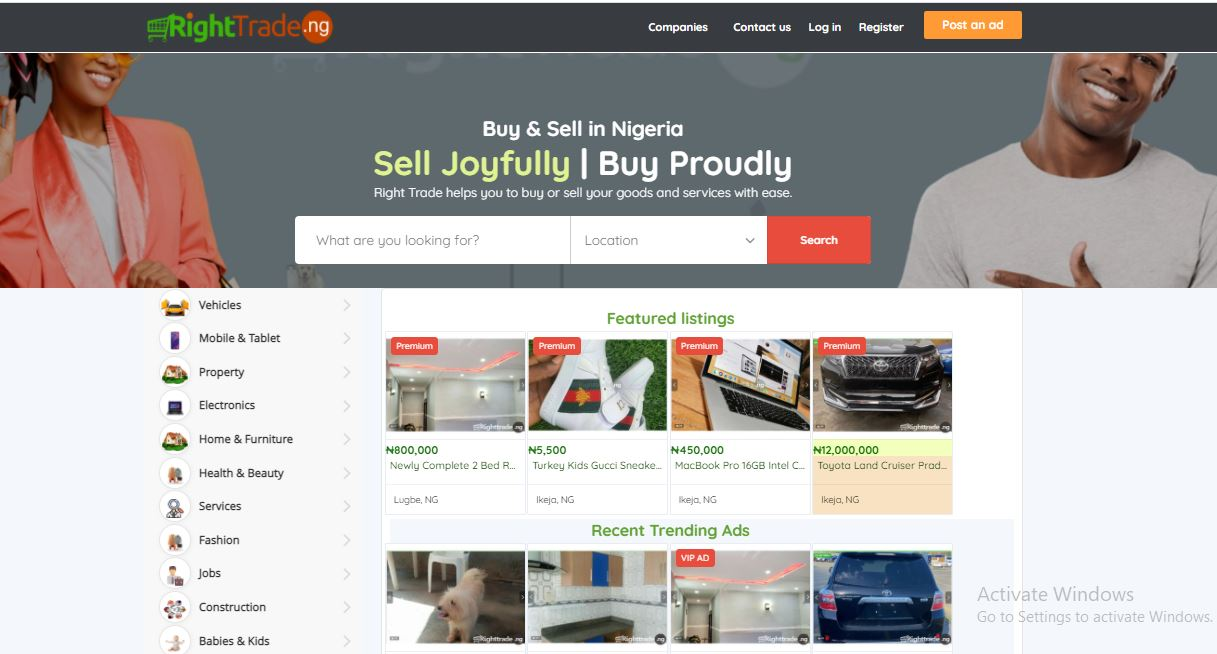 JIJI Classifieds Clone PHP demo