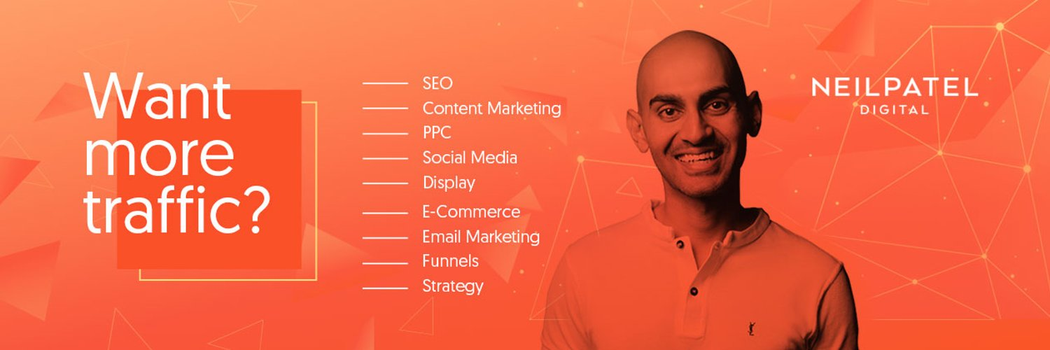 Neil Patel Online serial Digital Marketing entreprenuer